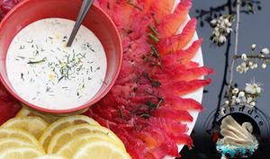 Sauce pour saumon gravlax de Jamie Oliver