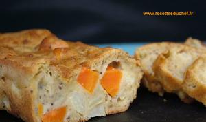 Cake carotte artichauts et farine de sarrasin Linette