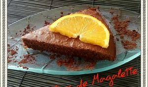 Gâteau Chocolat et Orange