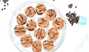 Mocha cupcakes – chocolat et café