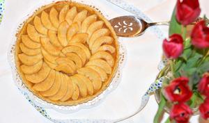 Tarte aux pommes sans sucre ajouté