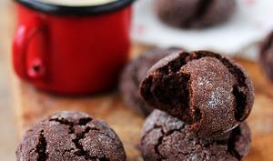 Craquelés au cacao, vegan et sans gluten