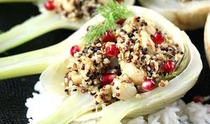 Fenouil farci au quinoa