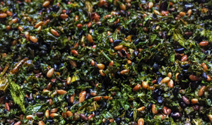 Condiment de kale, façon furikake japonais