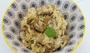 Bœuf sauté aux épices colombo et riz basmati