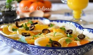 Salade aux oranges et au fenouil