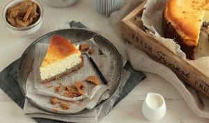 Cheese Cake Rhubarbe