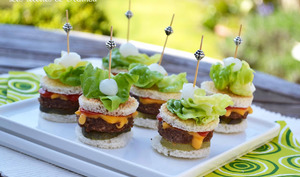Mini-burgers apéritifs