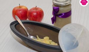 Papillote de pommes express à la confiture de pommes de terre au micro-onde