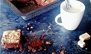 Brownie au Chocolat et aux éclats d'amandes