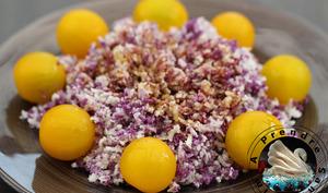 Salade croquante aux choux fleurs