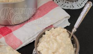 Le riz au lait vanillé