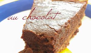 La tarte mousse au chocolat