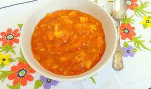 Compote abricots, pommes et bergamote
