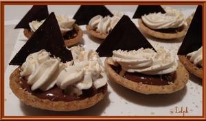 Tartelettes chocolat et Caramel