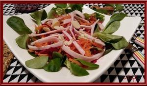 Salade de carottes et de betteraves