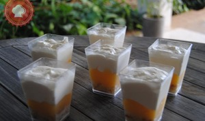 Verrines crème citron et mascarpone