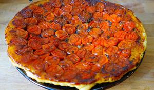 Tarte Tatin de Tomates Cerises Caramélisées