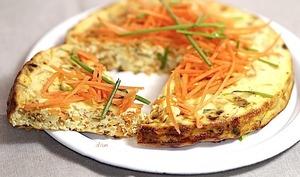 Moelleux aux carottes cumin et ciboulette