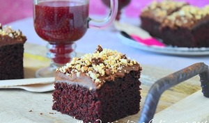 Gâteau au chocolat sans oeufs