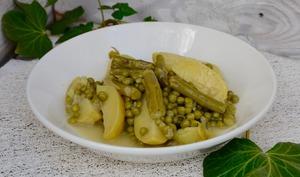 Jardinière de légumes verts
