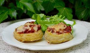 Artichauts gratinés à l'italienne