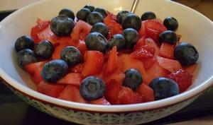 Power bowl aux fruits
