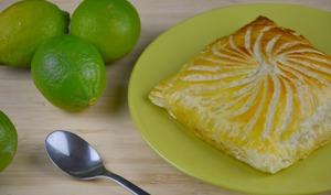 Galette des rois citron vert et ananas