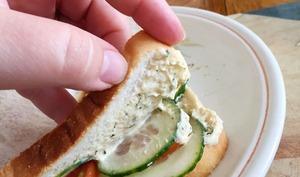 Picnic végane avec Sandwich et Smoothie