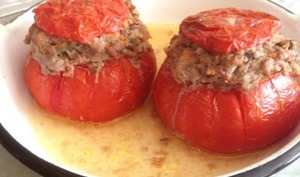 Tomates Farcies 100 % boeuf