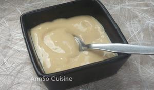 Crème façon Montblanc vanille