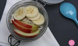 Chia pudding au miel et aux fruits