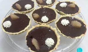 Tartelettes chocolat agrume