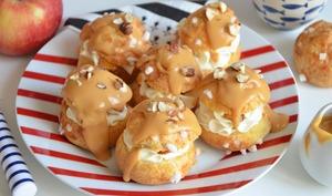 Chouquettes pommes caramel sucrées salées