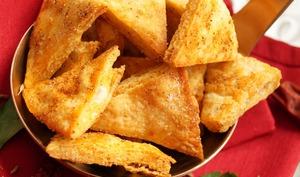 Chips de pita crisps