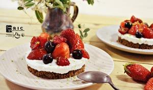 Cheesecake facile à la brousse et fruits rouges