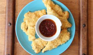 Nuggets de poulet aux chips