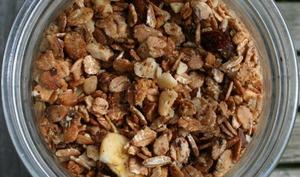 Granola maison le petit déjeuner sain