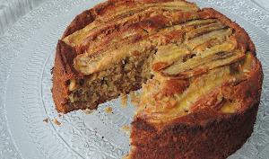 Gâteau à la banane et cacahuète