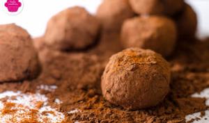 Truffes au chocolat et paprika