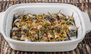 Sardines farcies à la sicilienne