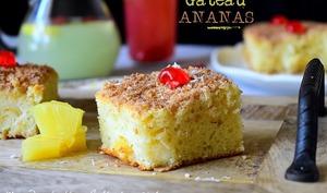 Gâteau ananas moelleux et facile