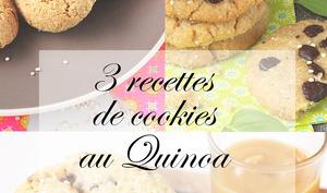 Cookies avec du quinoa