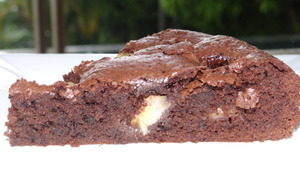 Gâteau ultrarapide et ultra-bon chocolat et banane