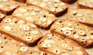 Biscuits islandais aux noisettes