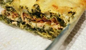 Lasagne saumon et épinards au thermomix facile et rapide