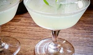 """Cocktail """"Gin Tarragon Smash"""""""