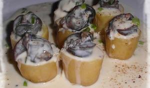 Escargots de Bourgogne à la Crème de Reblochon