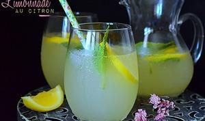 Limonade au citron ou citronnade fait maison