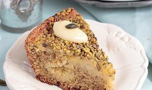 Gâteau pistache et lemon curd